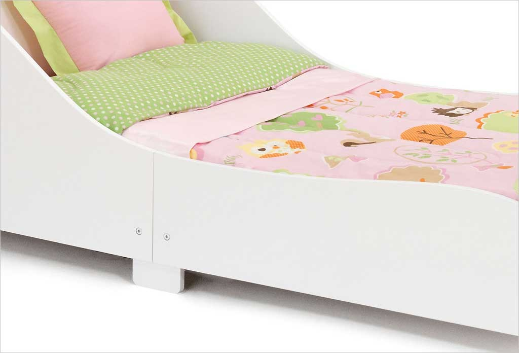 lit traineau bois blanc kidkraft lit 18 mois b b fille apesanteur. Black Bedroom Furniture Sets. Home Design Ideas