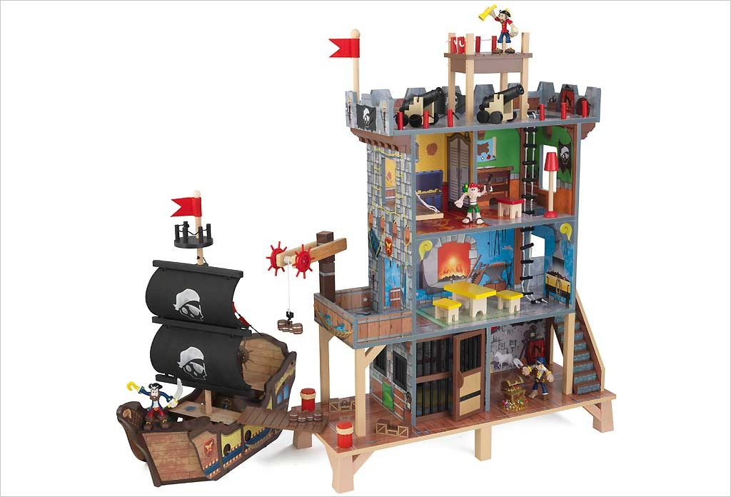 fisher price imaginext pirate island instructions