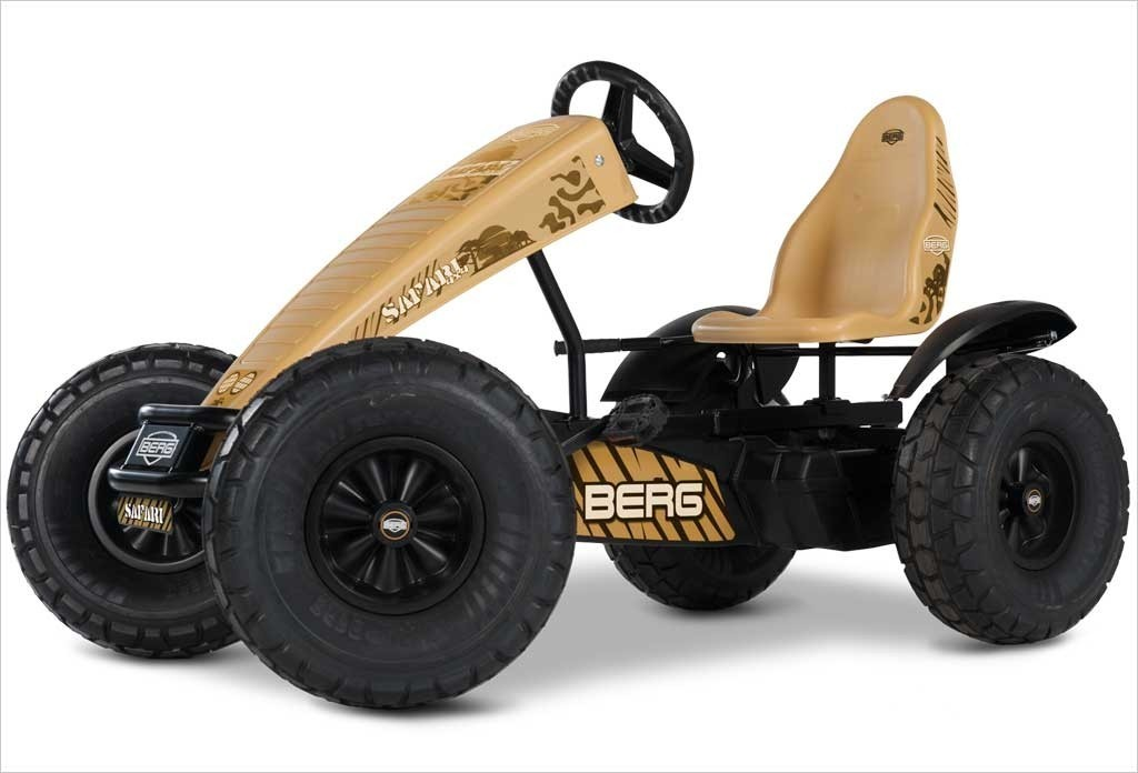 kart safari bfr beige de berg avec pneus tout terrain pour. Black Bedroom Furniture Sets. Home Design Ideas