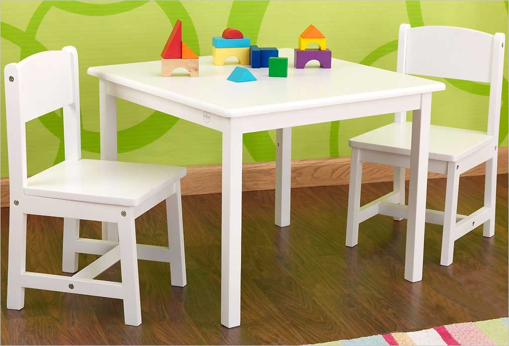 Table et 2 chaises maison design - Ikea table et chaise enfant ...