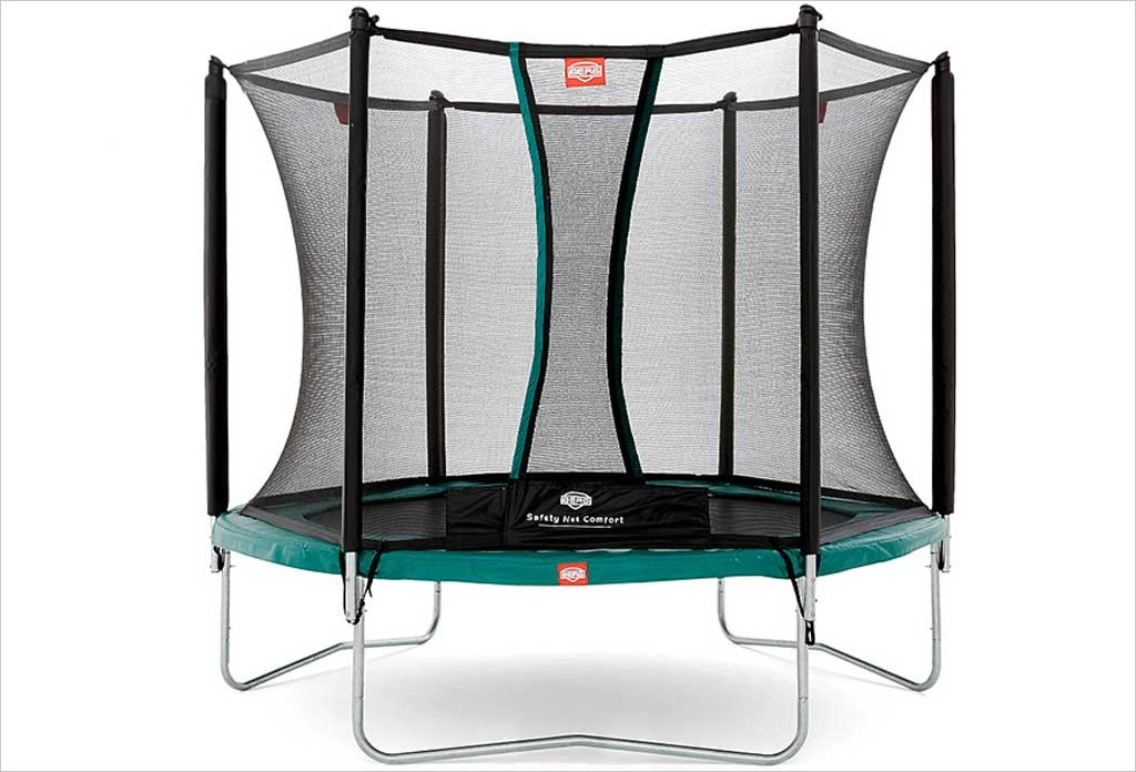 petit trampoline talent berg 240cm avec filet de protection. Black Bedroom Furniture Sets. Home Design Ideas