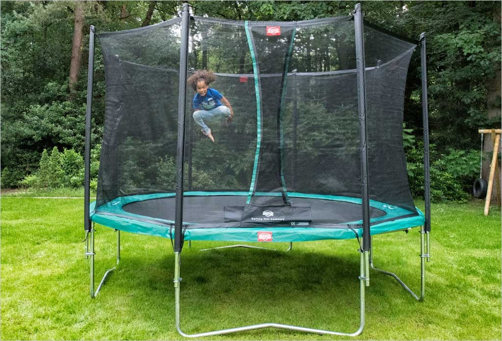 trampoline berg favorit 270 filet de protection. Black Bedroom Furniture Sets. Home Design Ideas