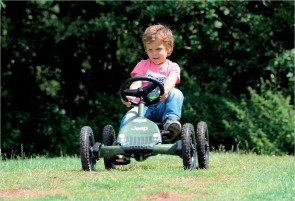 Kart à pédales Jeep Junior BERG