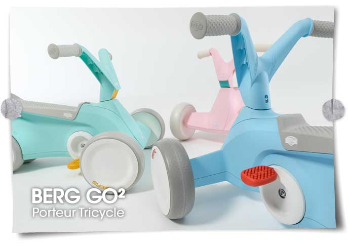 Porteur Tricycle BERG GO2